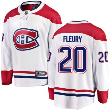 Breakaway Fanatics Branded Youth Cale Fleury Montreal Canadiens ized Away Jersey - White